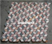 Mosaic Marble / Pebble Mosaic, Mosaic Pattern / Parquet Marble / Pebble Tile