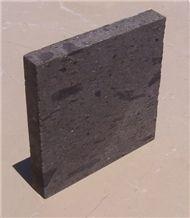 Black Of Erciyes Mountain Natural Stone, Kayseri Black Tuff Stone