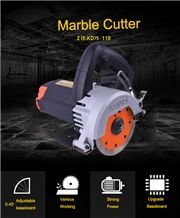 Stone Cutting Machine 1240w Marble Cutter with 110mm Blade