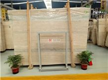 Italian Silver Grey / Blue 1.8cm Travertine Slabs