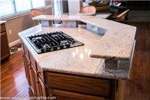 Raised Bar Millenium Cream Granite Traditional-Kitchen Countertop