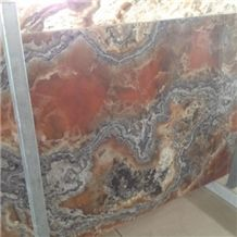 Multicolor Picasso Onyx Slabs