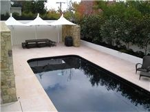 Stawell Sandstone Tiles for Pool Surround
