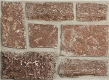 Meridian Red 4-12″ Tumbled Wall Tiles