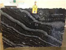 Black Agatha 3cm Slabs, Agata Granite
