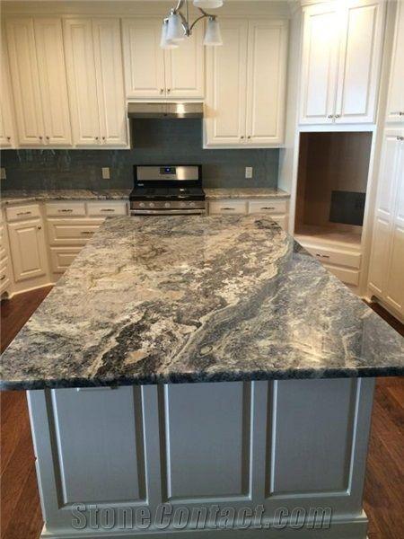 Azurite Granite Kitchen Countertop From United States