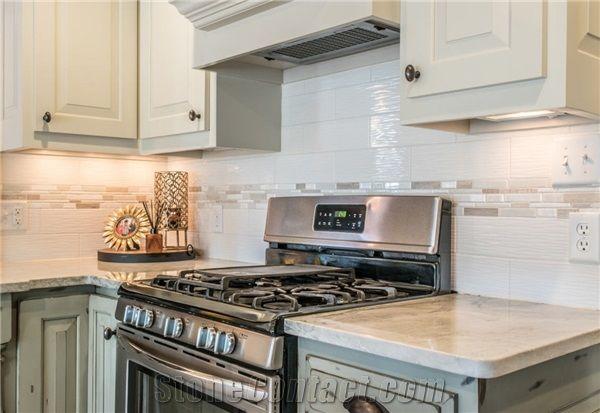 Sea Pearl Quartzite Kitchen Countertops