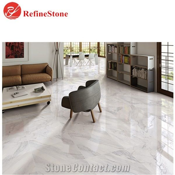 Volakas White Marble Floor Tiles Cheap Polished White Marble Slabs