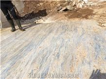 Blue Gefarnato Marble Block, Turkey Blue Marble