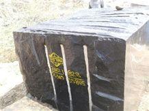 Jet Black Granite Blocks