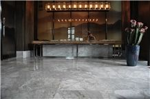Agud Grey Ice Crystal Marble Slab Polished,Wall Cladding Tiles,Imperial Gray Marble Cut to Size Panel for Hotel Floor Covering