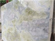 Blue River Marble Polished Lemon Ice Spring Slabs,Machine Cutting Tiles Panel Interior Floor Covering,Wall Cladding Skirting French Pattern