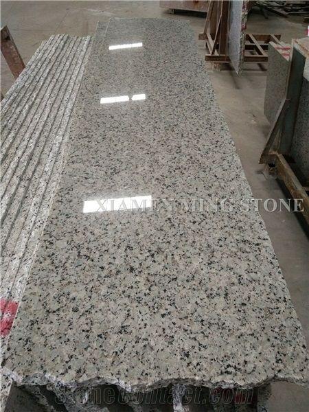 Honed China Bala Flower White Granite Tile Bianco Sardo Ocean Tiles Floor Covering Walling