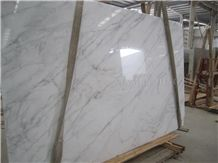 Polished China Bianco Carrara White Marble Slabs,Machine Cutting Antico Fox White Marble Tiles for Wall Cladidng,Floor Covering Pattern