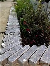 Honed Grey Limestone Paving Sets,Cobble Stone,French Patterns Flooring Paver,Tumbled Bluestone Cobble,Cubes,Garden Stepping Pavements,Walway Pavers