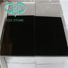 China Surface Polished Mongolia Black Basalt/Neimeng Black Basalt