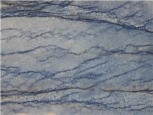 China Supplier Elegant Azul Macaubas Blue Ocean Quartzite Slab & Tile for Decoration