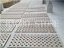 China Manufacturer Natural Stone Quarry High Polished Good Competitive Price Seller Beautiful 3d Vision Mudura Gold Granite Screen for Decoration
