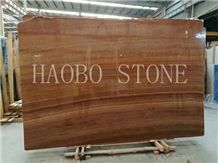 Customized Cut to Size Wholesale Price China Factory&Seller Wood Grain Yellow& Gold Marble Slab Available 2cm & 3cm with Iso9001:2000 for Interior