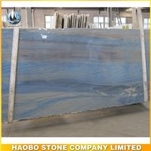 Direct Selling Tile Blue Slab Azul Macaubas Quartzite Slab for Flooring Tile and Wall Covering
