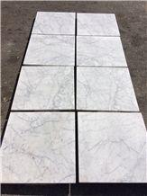 Carrara White Marble Tiles in Stock