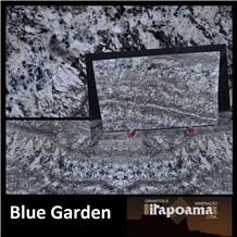 Blue Garden Granite Polished Slabs