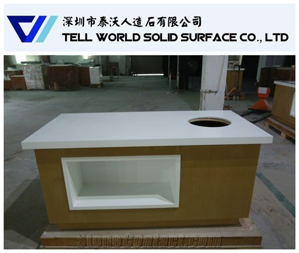 2017 Popular Western Style Restaurant Buffet Table Counter Top For