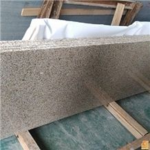 China G350 Quarry Factory Owner Shandong Yellow Giallo,Shandong Rust,Yellow Rust Stone,Golden Sesame,Gold Cannabis Granite Small Slab Wall Floor Tile