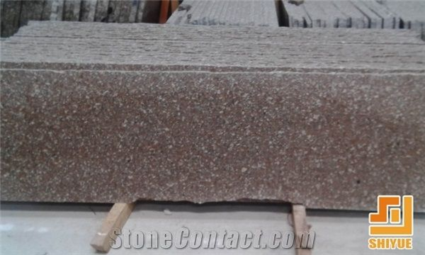 Haitang Red Stone,Guangxi Shanbao Red Granite Hot Selling In North America  And European Market,Polished Tile Slab