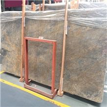 China Blue Marble with Golden Waves Marina Lady Marble Marina Blue Marble Stone