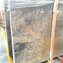 China Cheap Blue Marble Stone Slabs Tiles Marina Lady Marble
