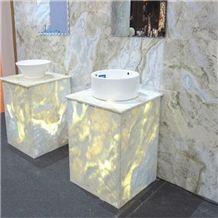 China Lemon Ice Marble Spring Blue River Marble Changbai White Jade Stone,Marble Tiles & Slabs