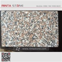 G648 G3548 Zhangpu Red Granite China Natural Cheap Light Queen Rose Zhaoshan Stone Golden Brown Slabs Wall Flooring Thin Tiles