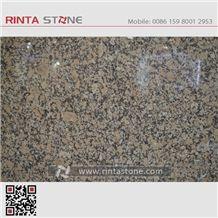 G736 Lihua Brown Nanhua Granite Small Big Flower Slabs Tiles Countertops Wall Flooring Kitchen Tops