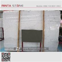 Guangxi White Marble China Chinese Natrual Stone Gangsaw Slabs Tiles