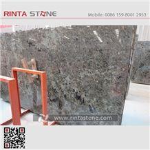 Madagascar Blue Granite Luxury Slabs Tiles