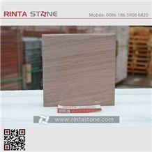 Peach Wooden Grain Vein Sandstone Natural Lilac / Violet/ Plum Colour Stone