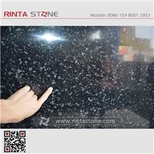Starry Night Granite Natural Blue Shining Point Black Stone,Granite Tiles & Slab
