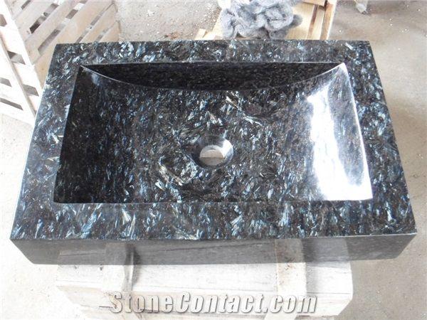 Granite Basins Rectangle Sinks Bathroom