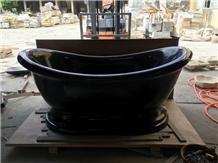 G654 Granite Bathtub,Seasame Black Granite Bathtub
