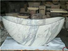 Volakas White Bathtub,Marble Bathtub,Stone Bathtub