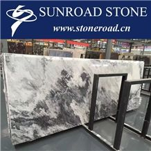 Chinese Landscape Painting Marble Slabs