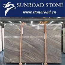Kylin Wood Marble Slabs & Tiles, Royal Wood Grain Marble Slabs & Tiles
