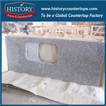 Imported White Granite Polished Countertops,Cheap White Luna Pearl Natural Granite Stone,White Granite Countertops