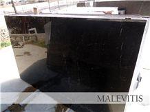 Black Volou Greek Marble Slabs & Tiles, Volos Black Marble Slabs & Tiles