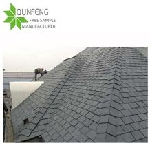 Chinese Manufacturer Direct Natural Black Stone Tile Round Slate Roofing,Tile Roof Stone