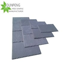 Very Popular and Cheap Chinese Dark Drey Roofing Slate,Natural Roof Slate Tiles