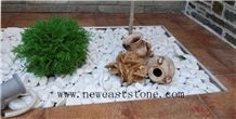 Garden Decoration Snow White Pebbles for Sale