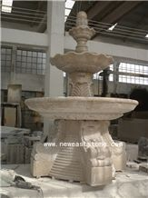 High Quality Outdoor Cheapest Factory Price Natural China Yellow Granite Stone Water Fountain Supplies