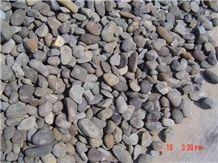 Natural Black River Unpolished Pebble Stone, Natural Pebble Stone, Unpolished Cheap Black Nature River Stone Pebbles